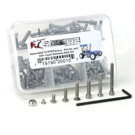 T4 RTR FACTORY SCREW SET