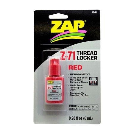 ZAP Z-71 Red Thread Locker
