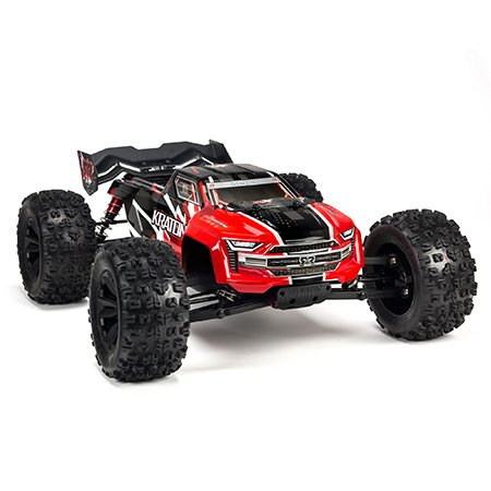 1/8 Kraton 6S, V4 Red, 4WD BLX Speed Monster Truck RTR