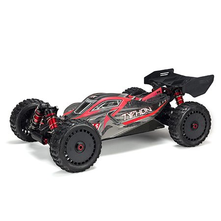 1/8 TYPHON 6S 4WD BLX BUGGY RTR V4 (Red/Black)