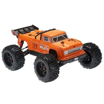 2018 1/8 Outcast 6S Stunt Truck 4WD Orange