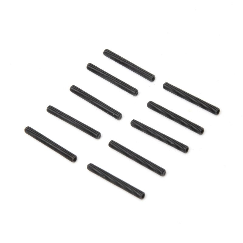 M3 x 25mm, Cup Point Set Screw (10)