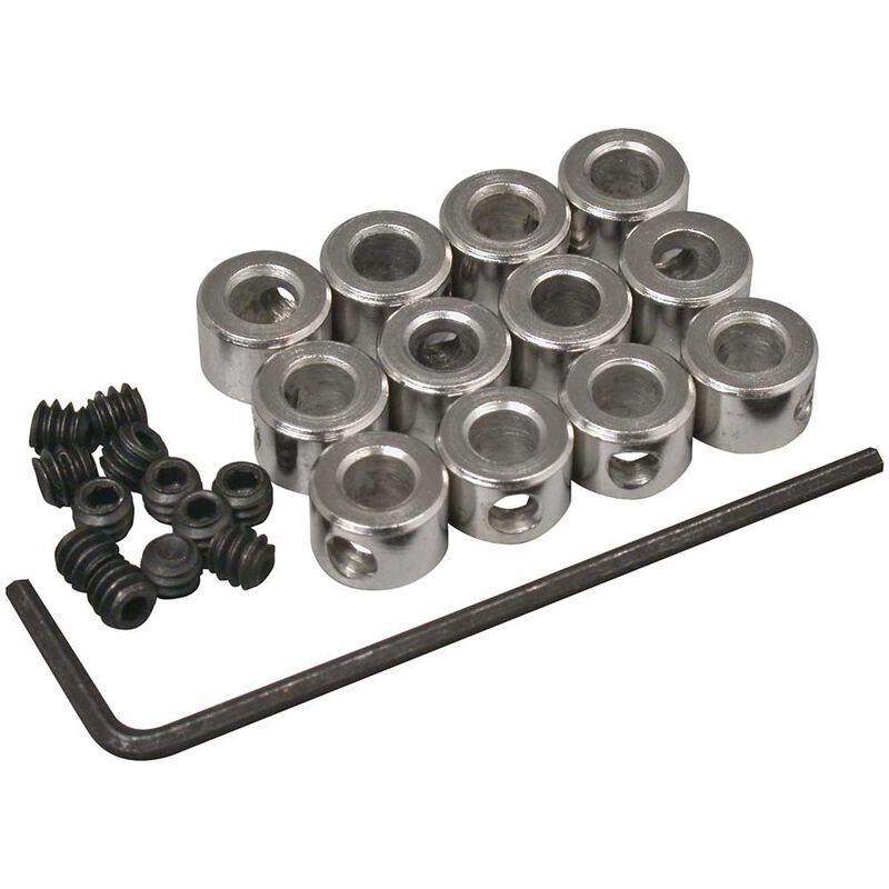 Plated Wheel Collars 5/32 (12)