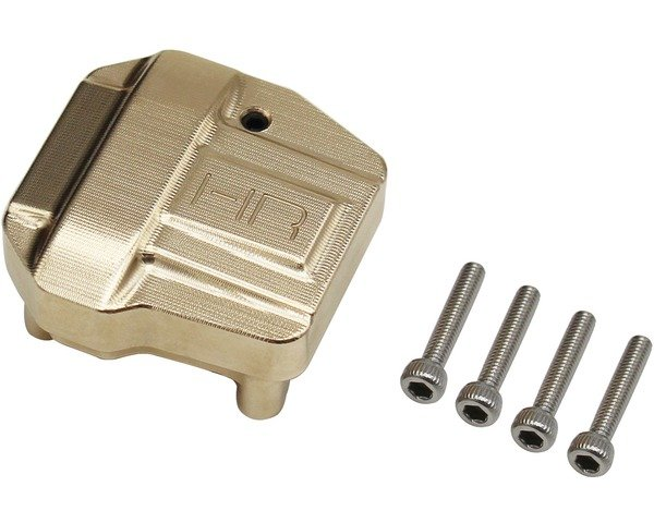 SCX III Brass Differential Cover