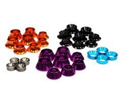 Alloy Concave Washer Assorted Size Color