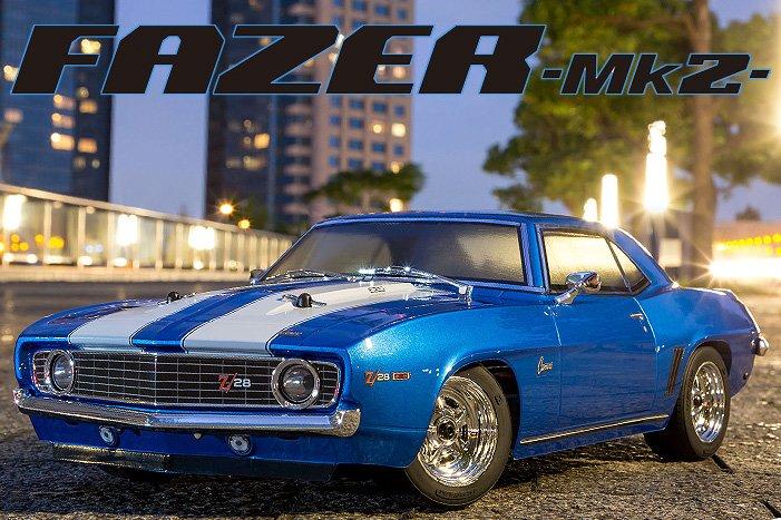 1/10 1969 Chevy Camaro Z28 RTR, Blue