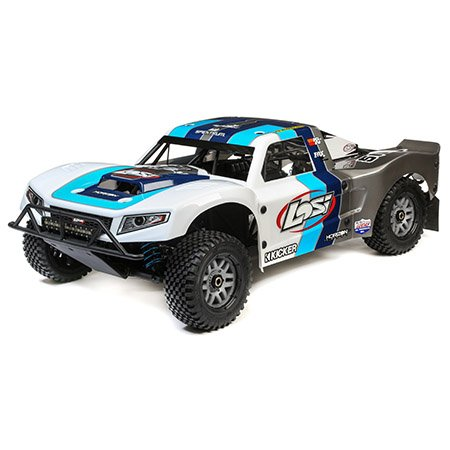 1/5 5IVE-T 2.0 4wd SCT Gas BND: Grey/Blue/White