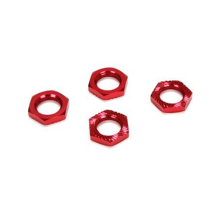 17mm X 5mm, Serrated nut, Red: LST XXL2-E
