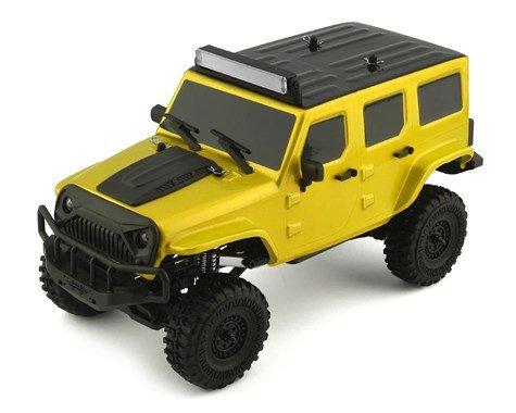 Tetra X1 1/18 RTR Mini Crawler (Yellow)