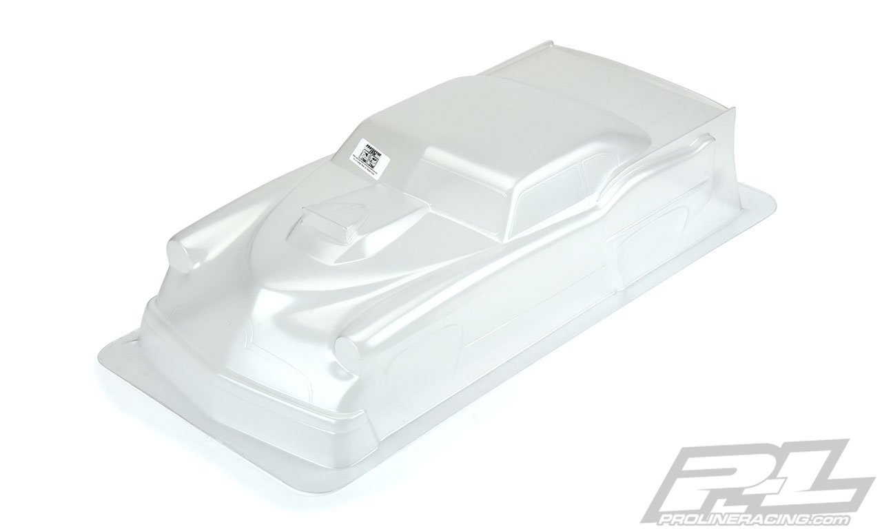 Super J Pro-Mod Clear Body Slash 2wd Drag Car - 675118174365
