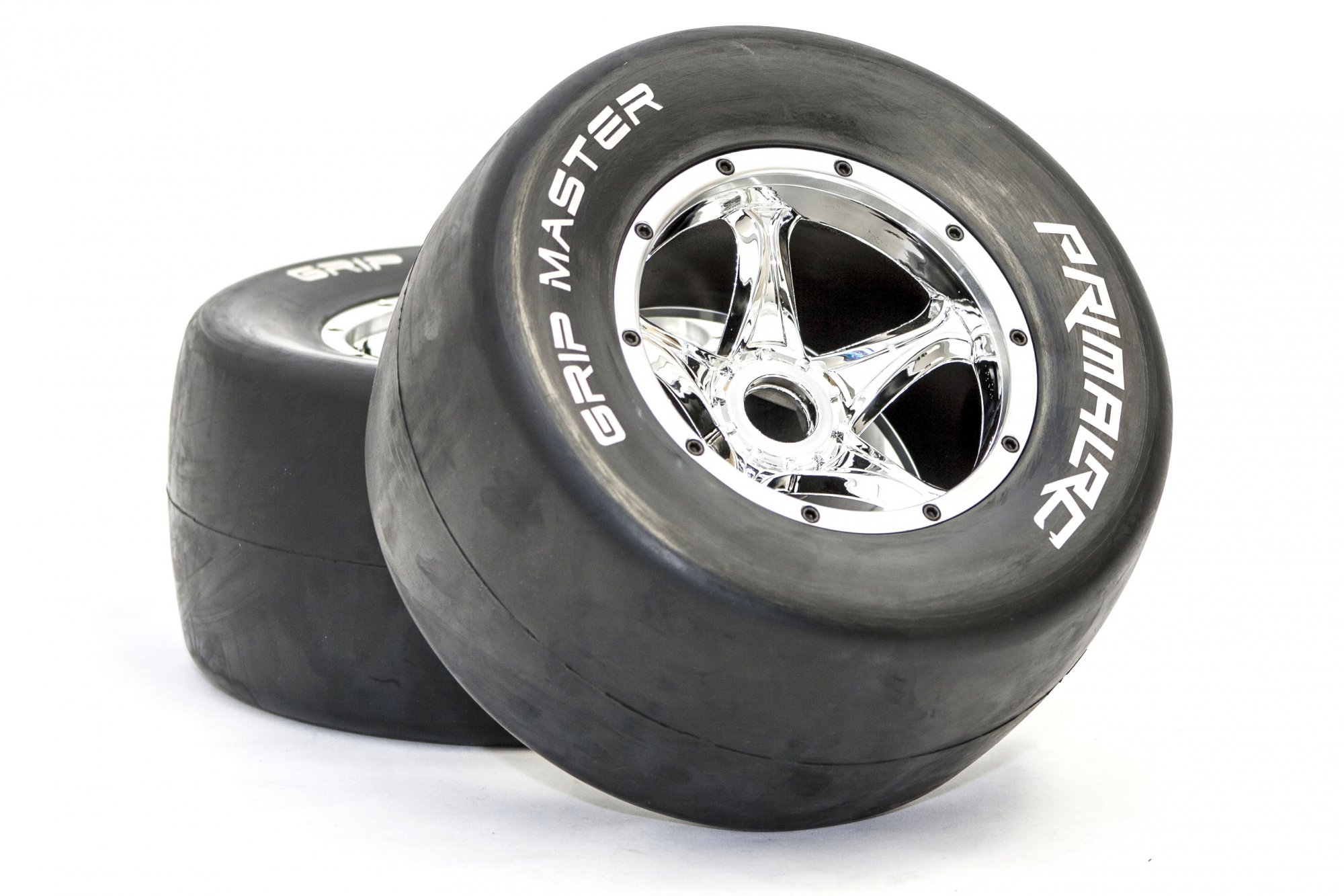 QS Rear Racing Slick Wheels & Tires (set of 2)