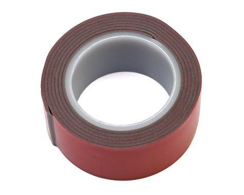 Grey High Tack Double Sided Tape Roll (1x40)