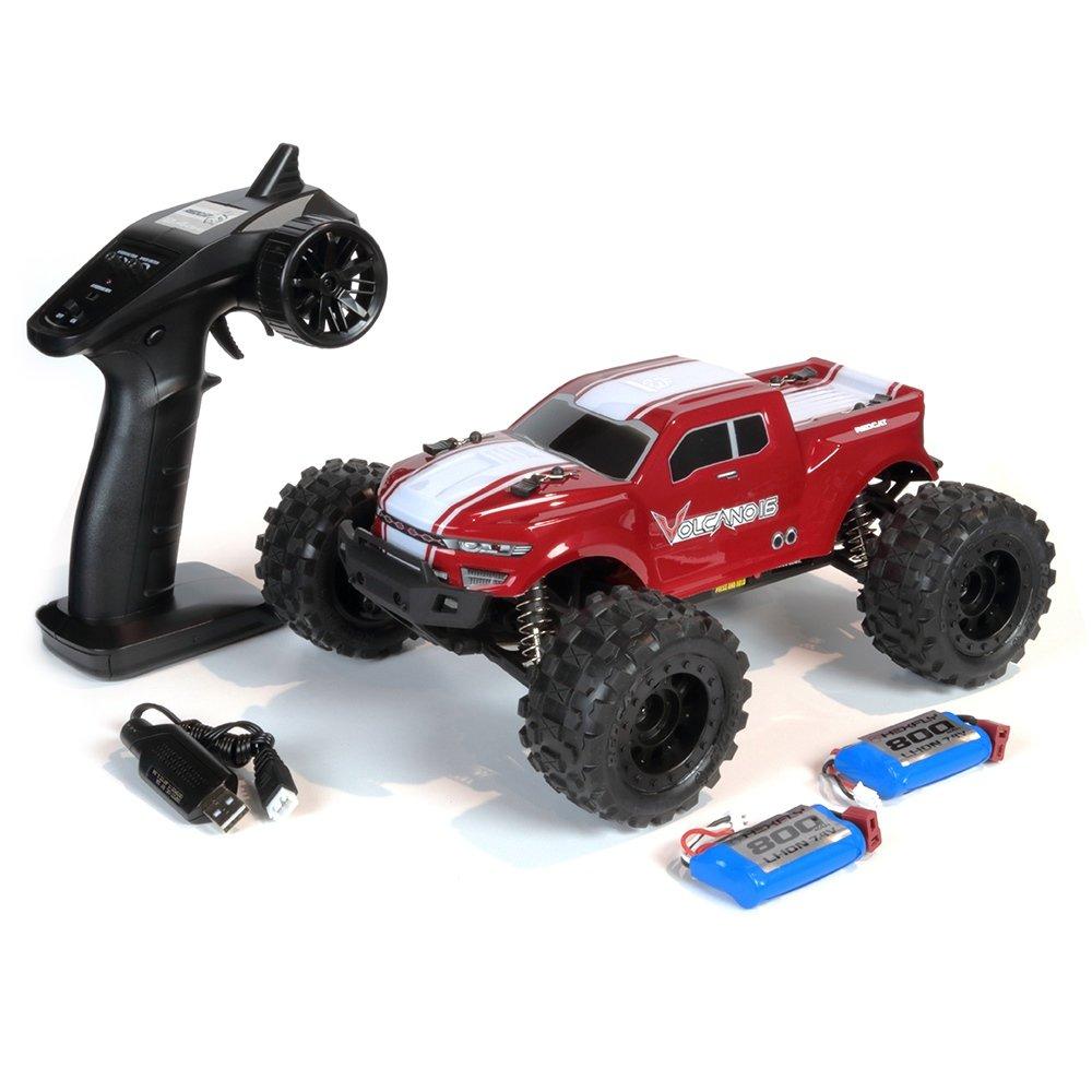 Volcano-16 Monster Truck -Red