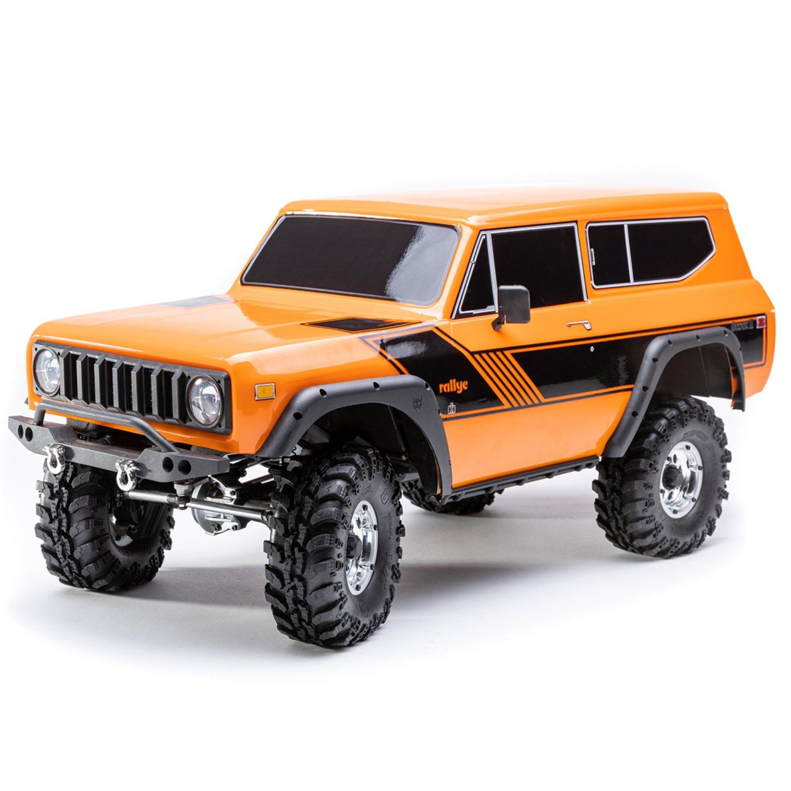Gen8 International Scout II 1/10 4WD RTR Scale Rock Crawler-Orange