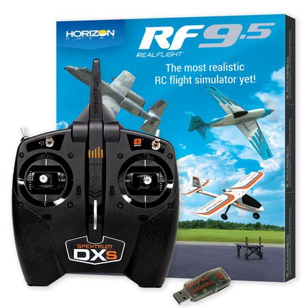 RealFlight 9.5 Flight Simulator W/ DXS and WS2000