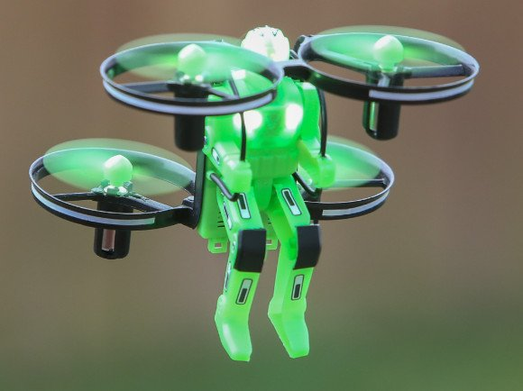 Jetpack Commander RTF Quad-Green