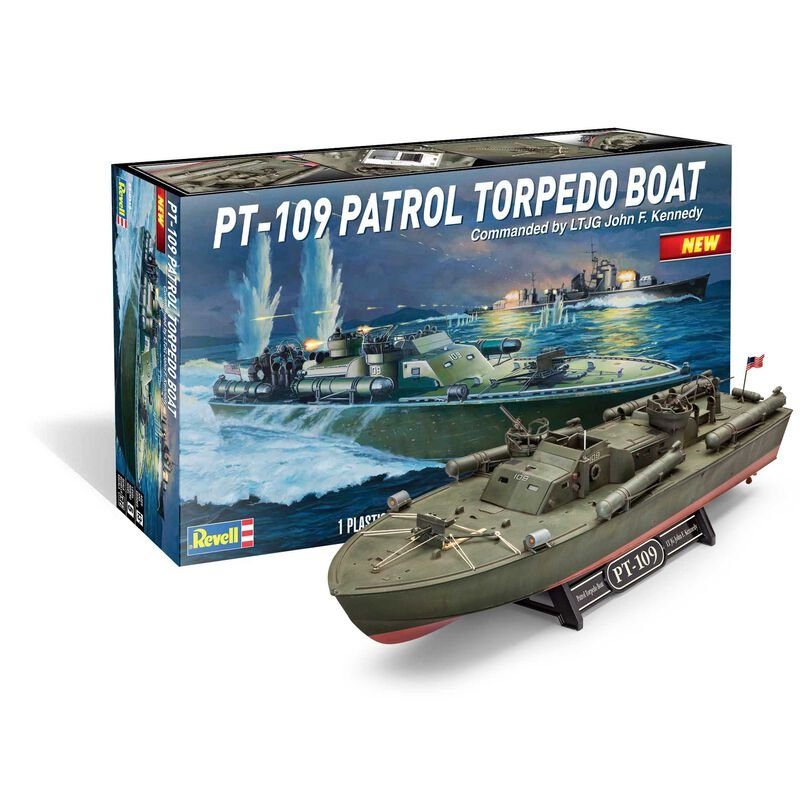 1/72 PT109 Torpedo Boat JFK