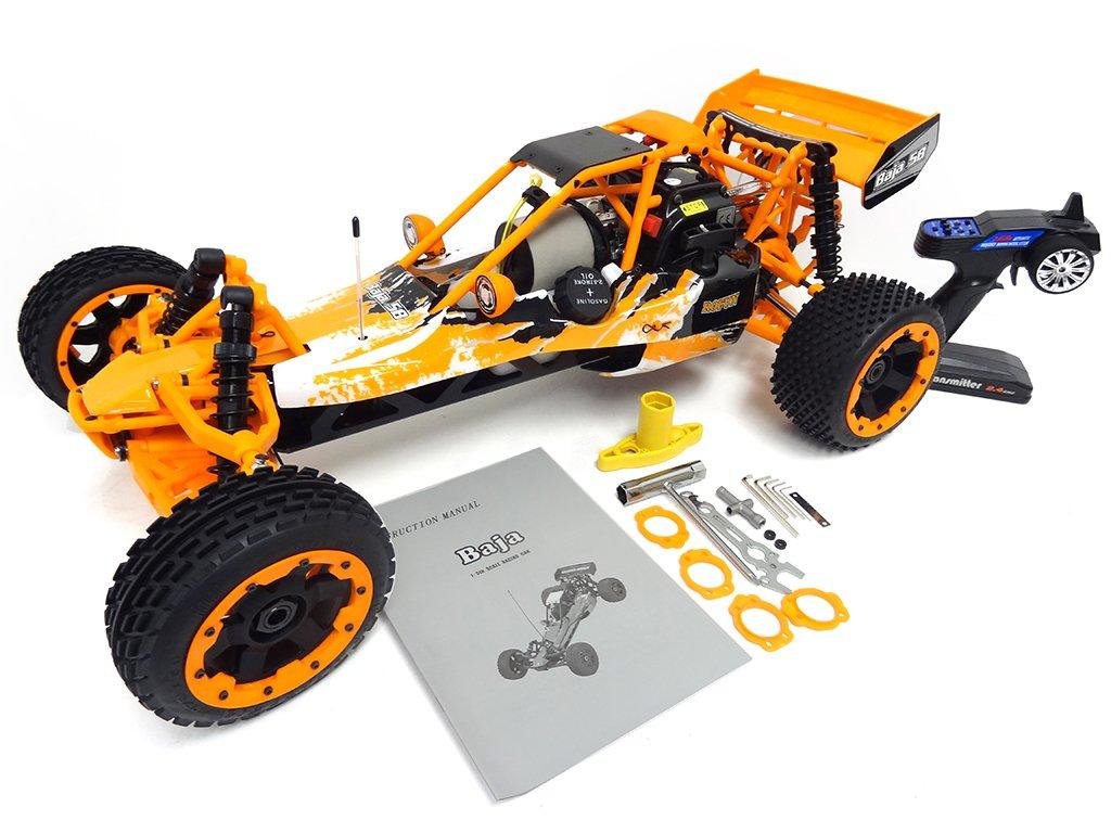 1/5 Gas Baja Buggy 30.5cc RTR orange