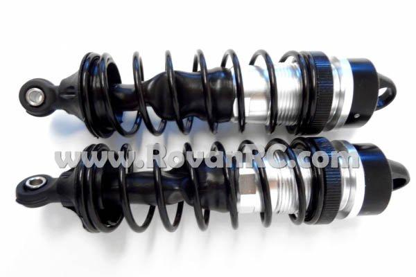 LT SLT Black Aluminum Front Shocks (set of 2)