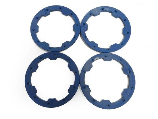 HD Nylon Baja Outer Bead Lock Rings (blue)