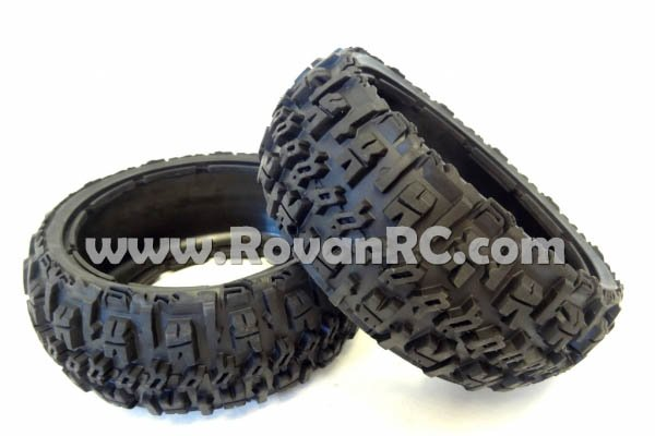 Buggy Front Off Road Excavator Tires (set of 2)