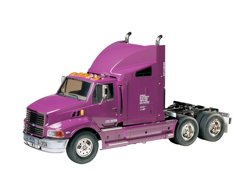 1/14 Ford Aeromax 6x4 Semi Truck Kit