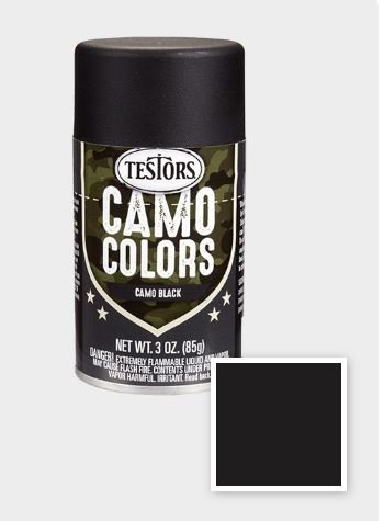 Black 3 oz Camouflage Spray