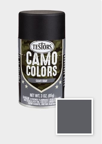 Camouflage Gray 3 oz Camouflage Spray