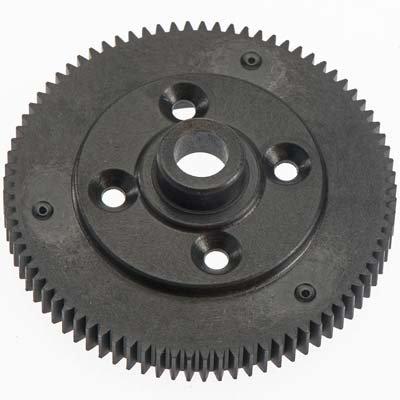81T Spur Gear 48P Black EB410