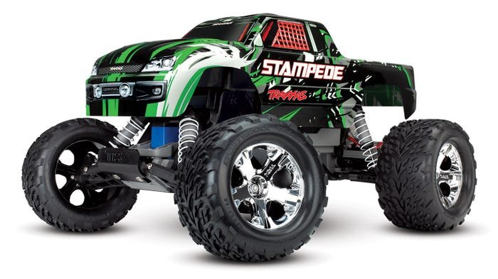 Stampede 1/10 RTR Monster Truck (GREEN)