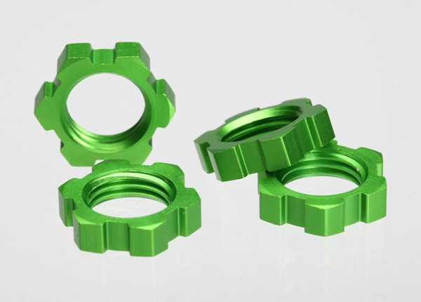 Green Anodized Wheel Nuts17mm