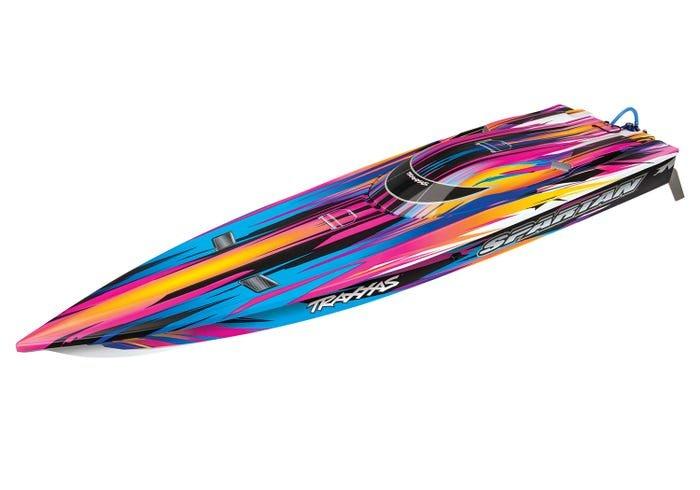 Spartan 36 Race Boat w/TSM, PINK