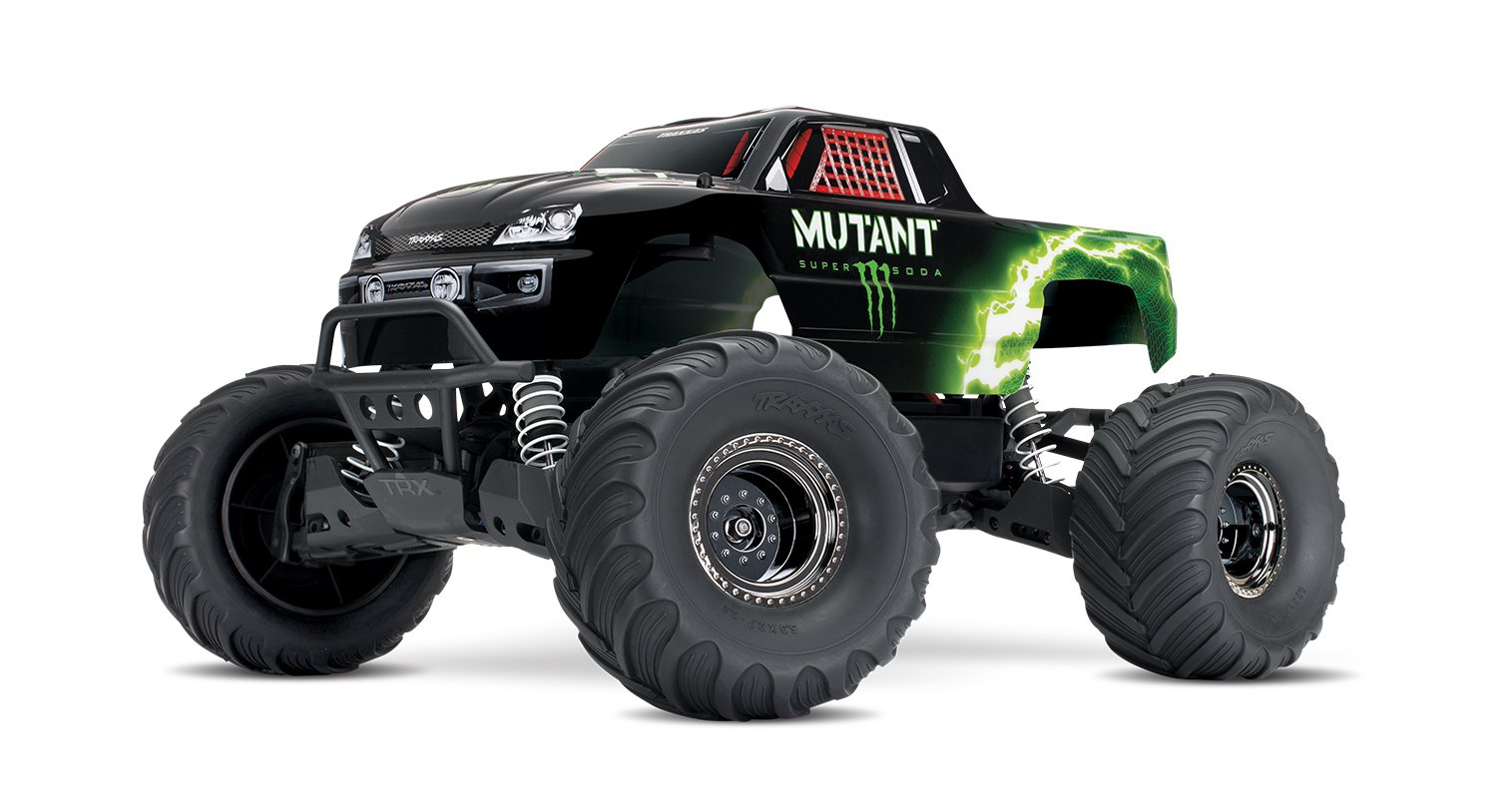 Limited-edition Monster Mutant Stampede 4X4 -XL5, RTR