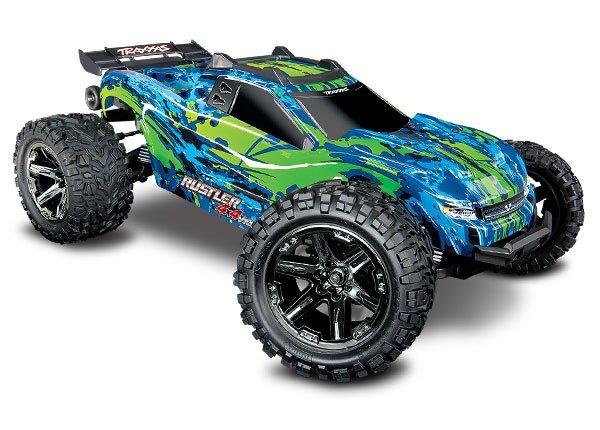 1/10 Rustler 4X4 VXL RTR Green