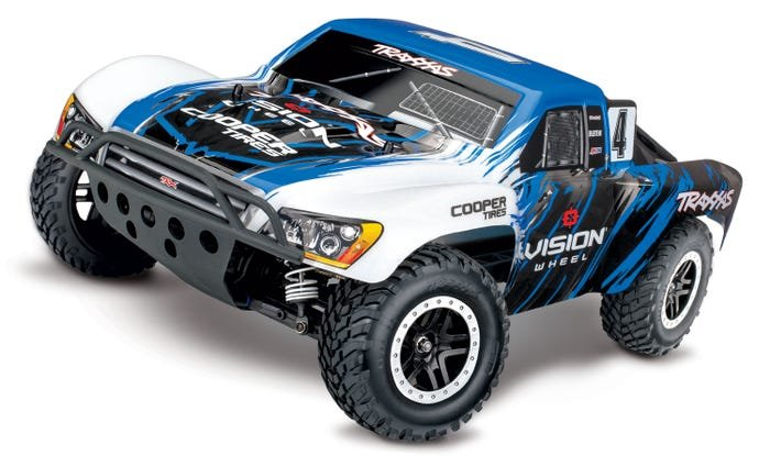 Slash 4X4 SCT Brushless RTR, TSM, #4 VISION