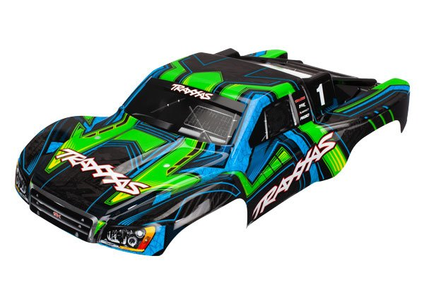 Slash 4X4 Green/Blue Body