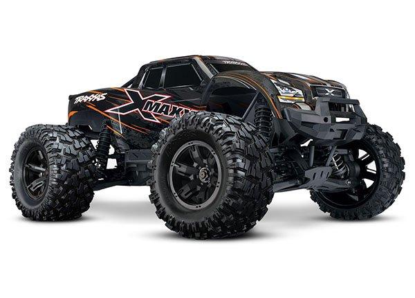 X-Maxx 4WD Truck 8S ORANGE w/TSM, RTR
