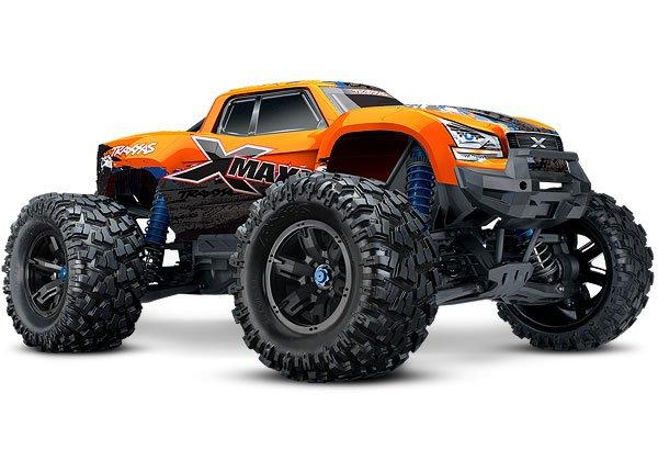 X-Maxx 4WD Truck 8S ORANGE-X w/TSM, RTR