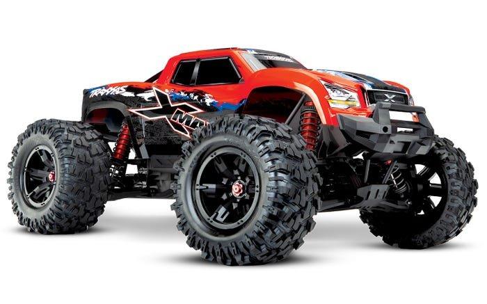 X-Maxx 4WD Truck 8S RED-X w/TSM, RTR