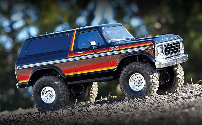 TRX-4 Ford Bronco, Sunset, RTR