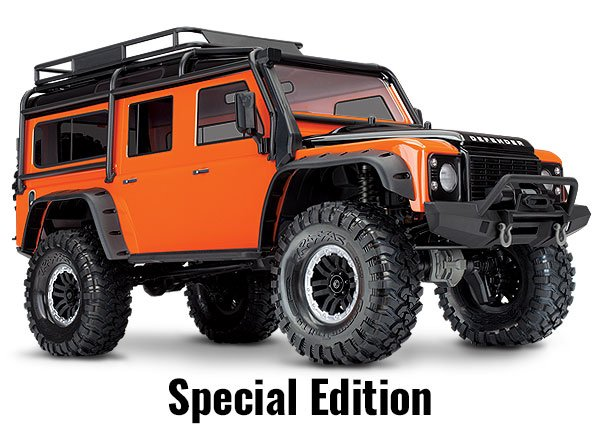 TRX-4 Land Rover Defender 4WD Trail Truck ORANGE
