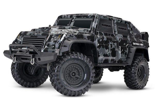 TRX-4 Tactical Unit: 4WD Electric Truck w/ TQi