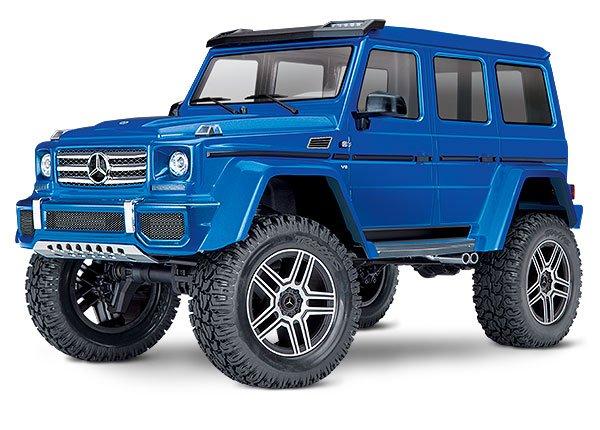 TRX-4 Mercedes-Benz G500 4WD Trail Truck Blue