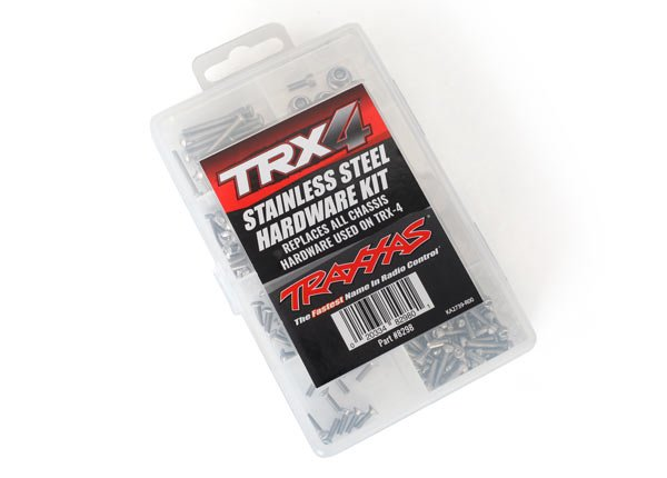 Stainless Steel Screw Kit: Traxxas TRX4