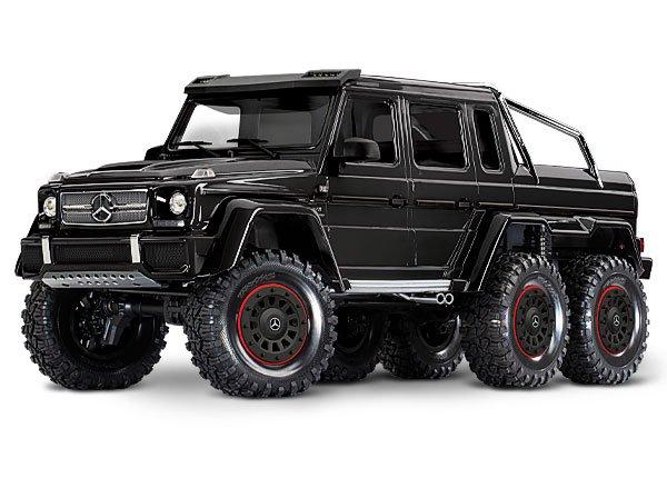 TRX-6 (Black) 6x6 Trail Crawler Truck