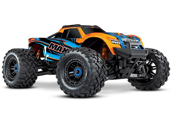 Maxx: 1/10 Monster Truck RTR-ORANGE