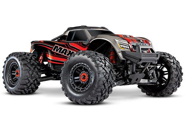 Maxx: 1/10 Monster Truck RTR-RED