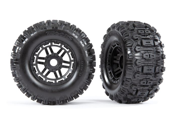 MAXX Sledgehammer Tires & wheels, assembled