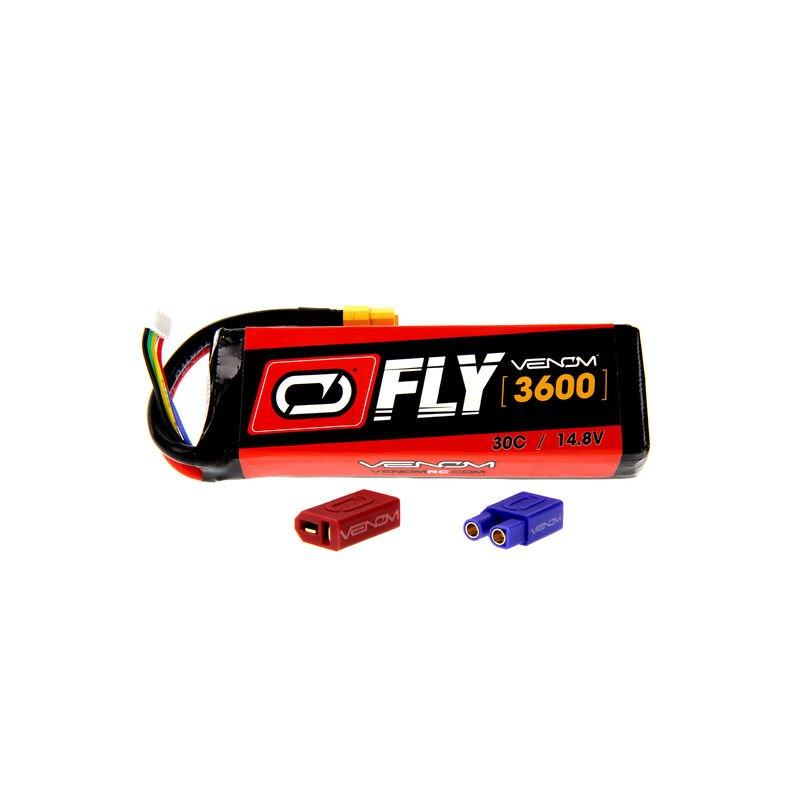 3600mAh 4S 14.8V 30C LiPo UNI 2.0 Plug