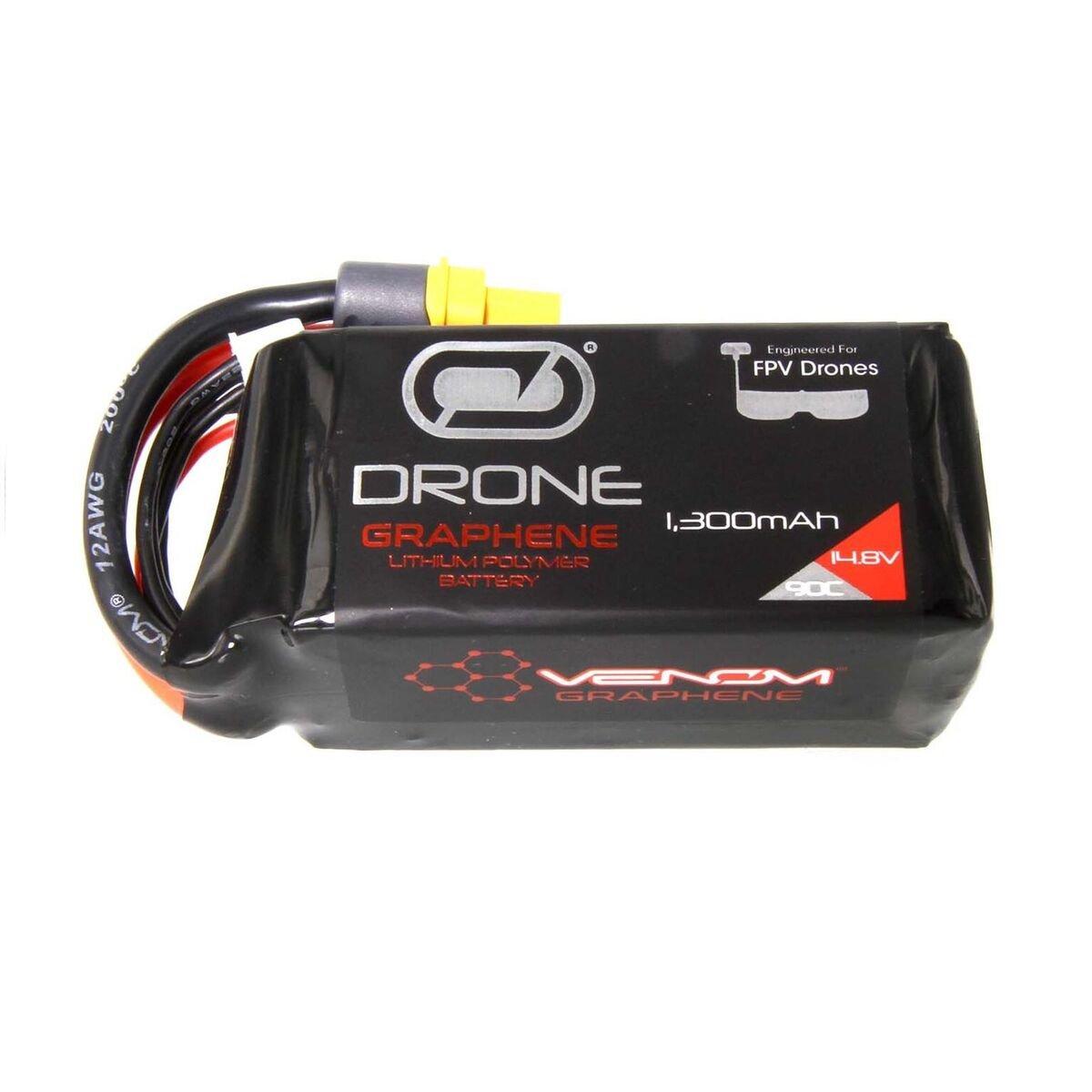 Graphene 90C 4S 1300mAh 14.8V Drone Race